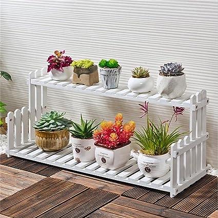 Amazon.com: Estantería pequeña para ventana de flores ...