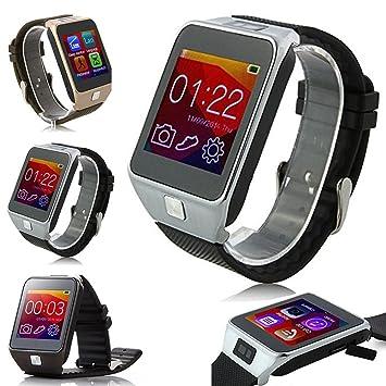 ParaCity V8 inteligente Bluetooth muñeca reloj teléfono para Android IOS Iphone 5s 6s Plus Samsung HTC