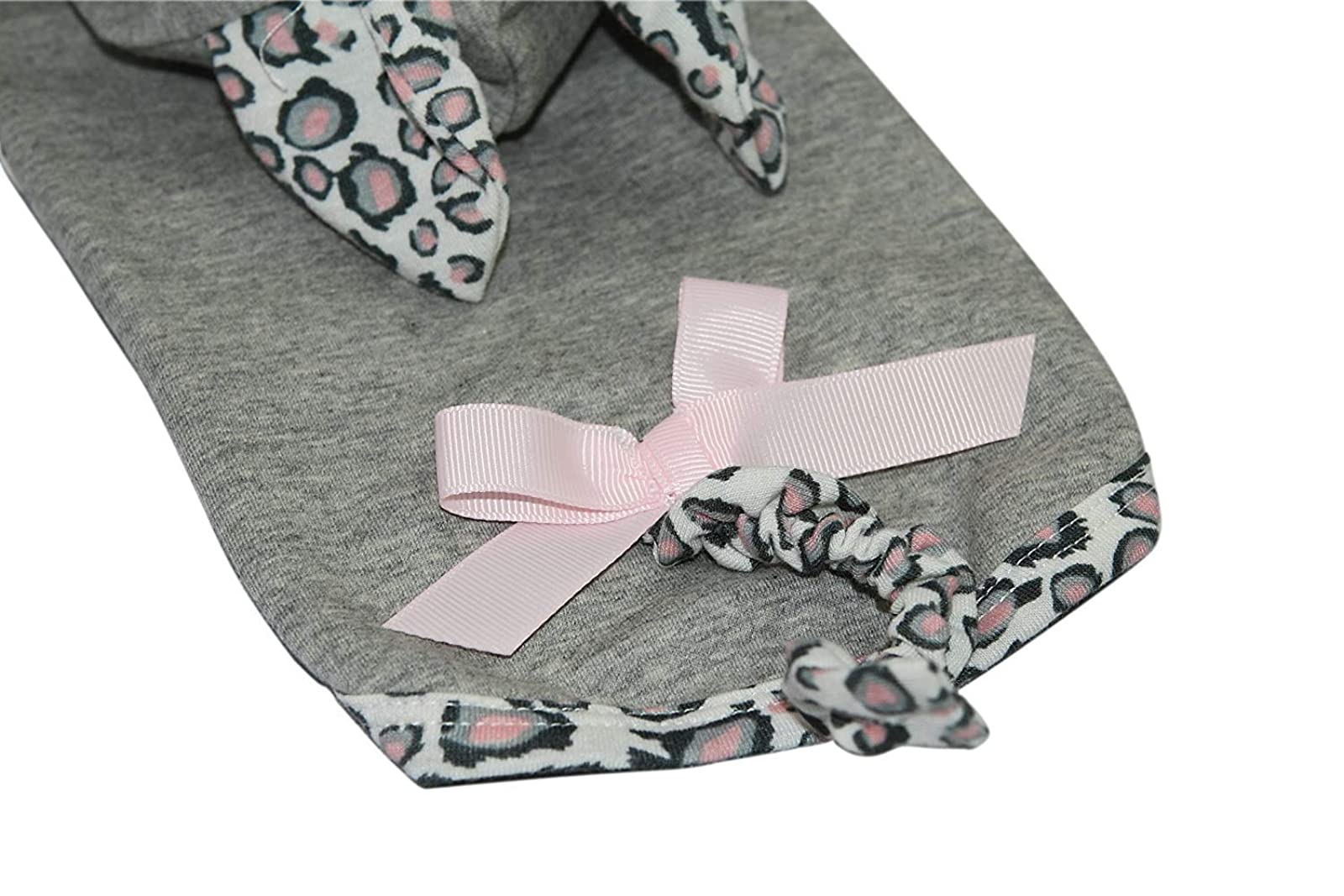 Puppy Face Leopard Tail Dog Hoodie Dog Grey Small/Medium - 6