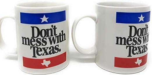 Amazon.com: Dont Mess With Texas Taza de café, té ...