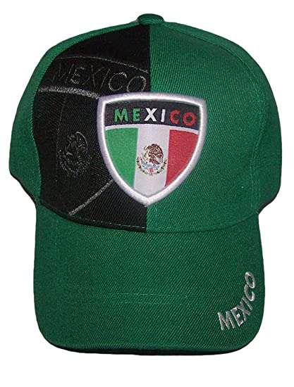 Amazoncom Mexicanhispanic Baseball Caps Mexico Hats For Adults