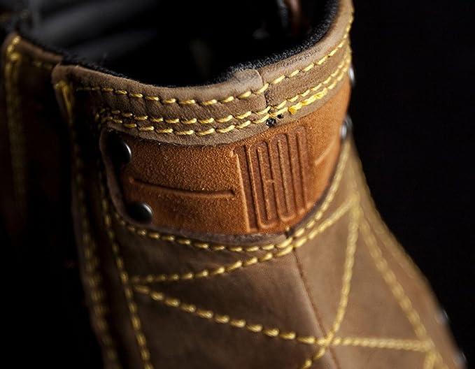 Icon, Stivali uomo marrone Brown 9: Amazon.it: Auto e Moto