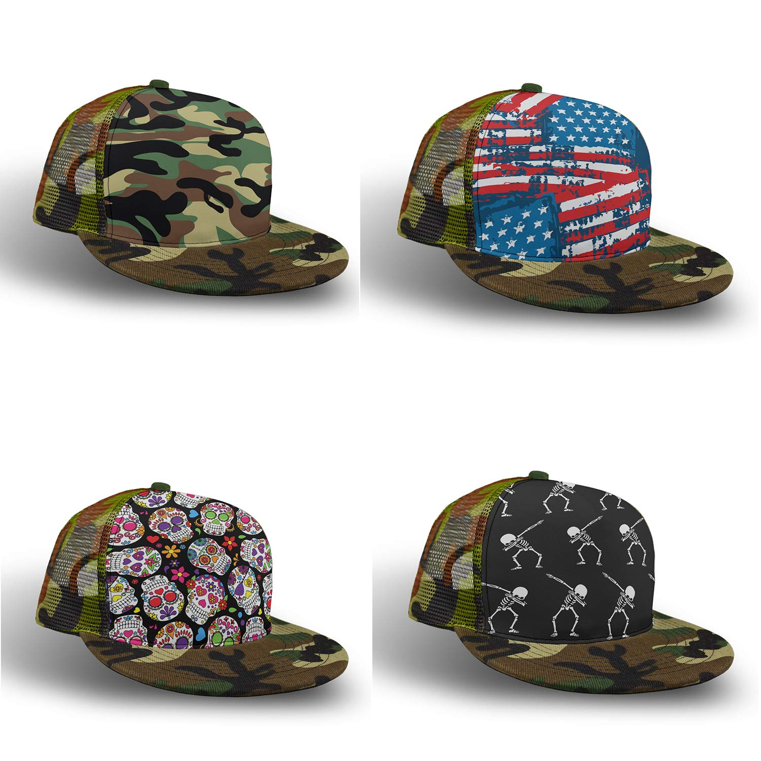 YongColer Adjustable Baseball Cap Dad Hat Men Women-Container Mandala