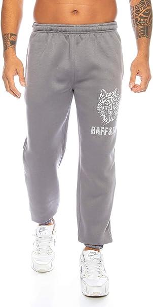 Raff&Taff Pantalones de deporte para hombre Winter Wolf M – 4XL | pantalones de deporte, pijama de tallas grandes funcionales pantalones de chándal ...