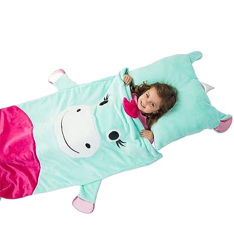 Kids Sleep Sack an Pillow Saco de dormir y almohada para niños – unicornio