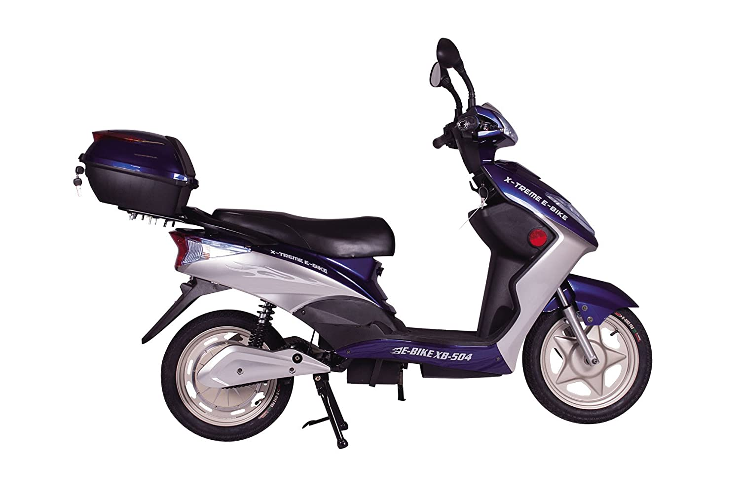 Amazon.com : X-Treme Scooters XB-504 Electric Bicycle44; Blue : Sports &  Outdoors