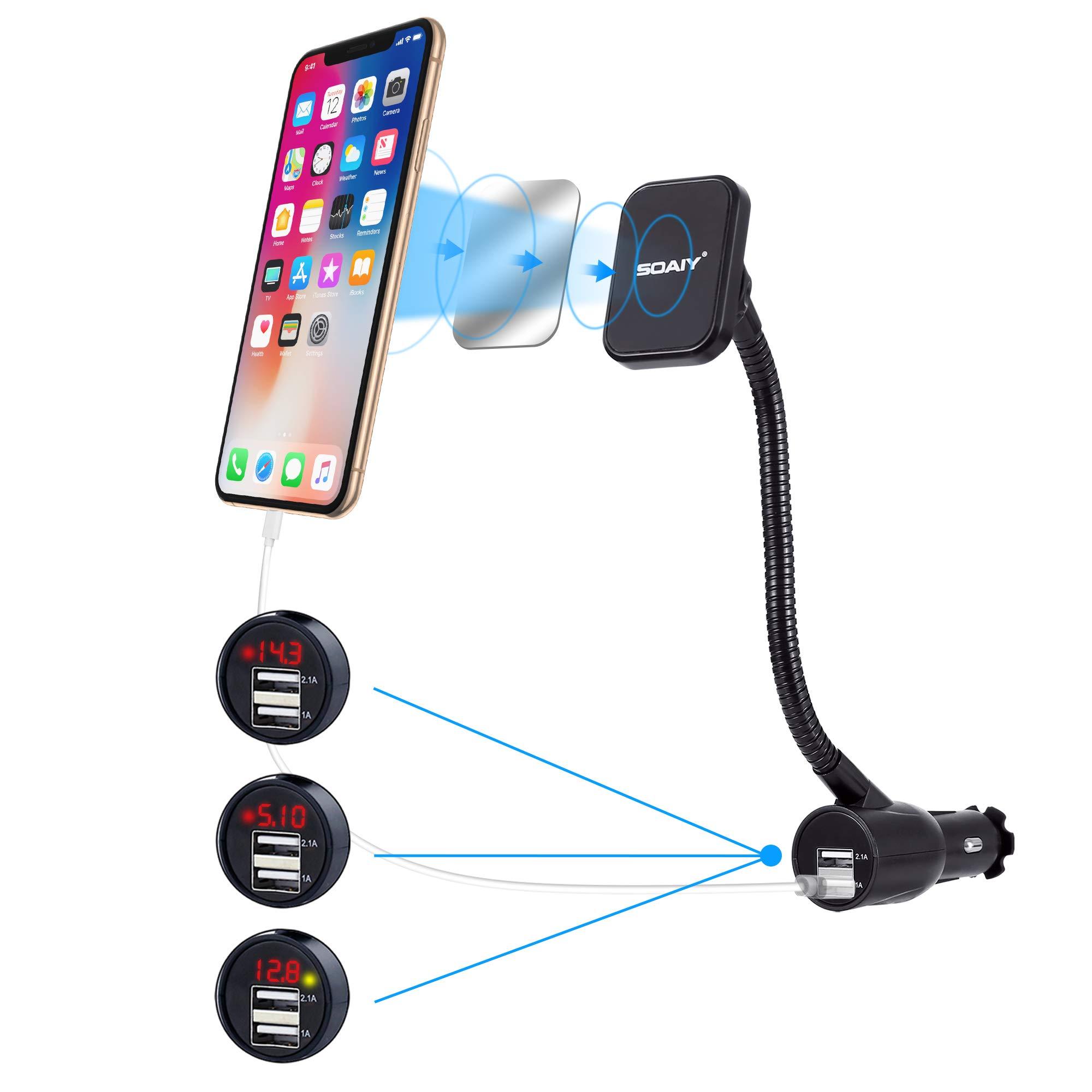 Cargador para Auto USB SOAIY (6ZXYKMHC)