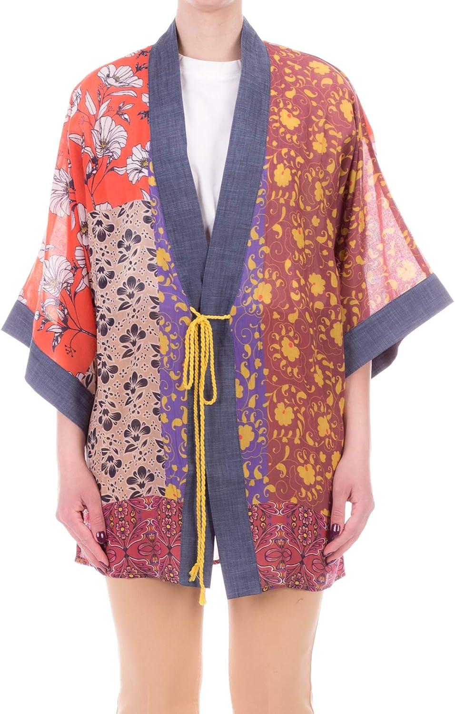 Manilla Grace Camisa Kimono Voile de algodón de fantasía ...