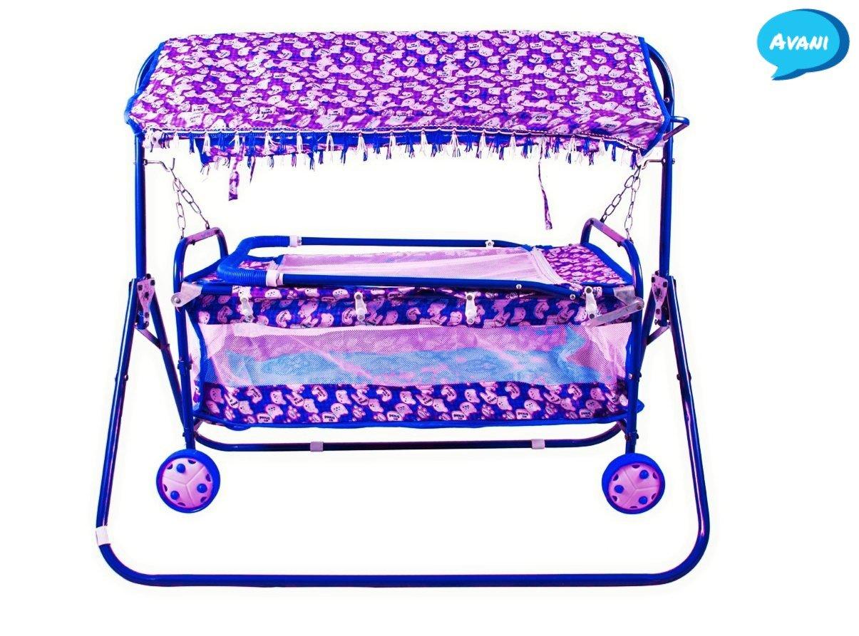Buy Avani Metrobuzz Baby Cradle Cot Cum Stroller Pink Online At Low Babygo Inc Metro Backpack Blue Prices In India