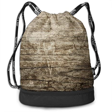 43e899cbede2 Amazon.com: HUOPR5Q Abstract-Antique Drawstring Backpack Sport Gym ...