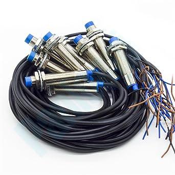 Lejin 10pcs Nuevo LJ12A3-4-Z / BY Detector de proximidad inductivo Interruptor Detección