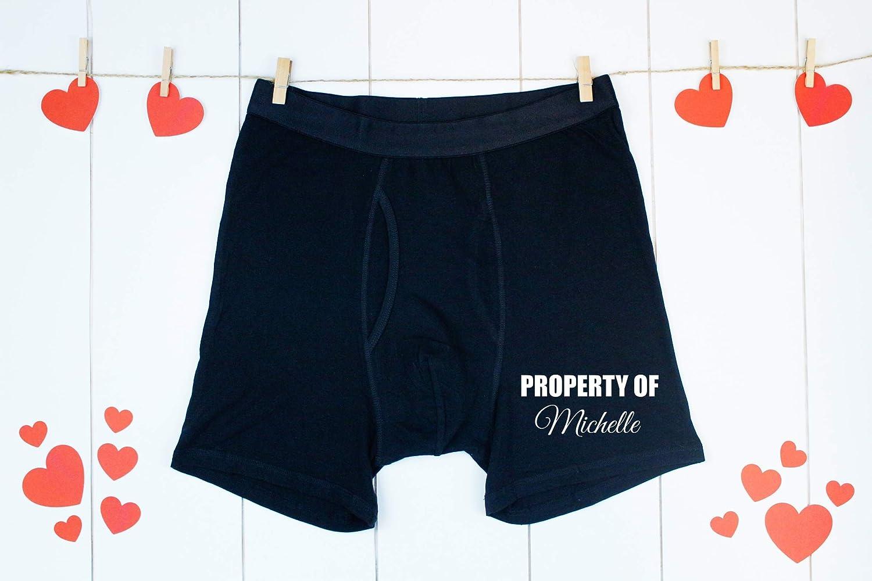 Custom Men/'s Boxer Briefs Girlfriend Face Personalized Pink Stars Heart Shorts Underwear for Valentines Day Birthday Anniversary Gift