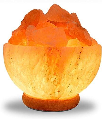 Himalayan Salt Lamp Carved Bowl