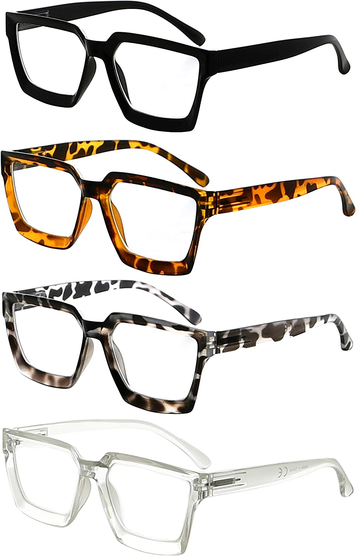 Max 40% OFF Eyekepper 4 Pack Reading Glasses Rea Luxury Ladies Women Oversize Frame
