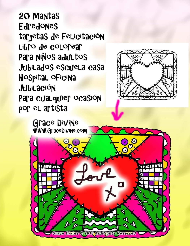 Amazon.com: 20 Mantas Edredones tarjetas de felicitación ...