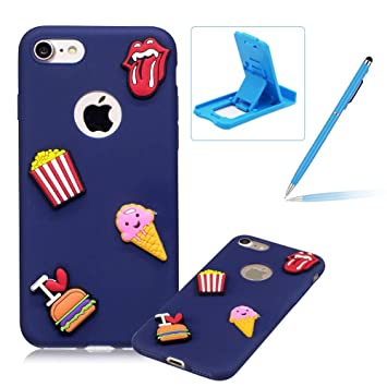 coque iphone 7 3d hamburger