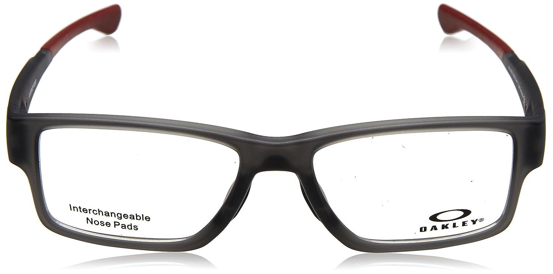e2288a9c73 Amazon.com  Oakley - Airdrop Trubridge(55) - Satin Gray Smoke Frame Only   Clothing