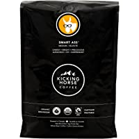 Kicking Horse Coffee, Smart Ass, Medium Roast, Whole Bean, 1 kg - Certified Organic, Fairtrade, Kosher Coffee