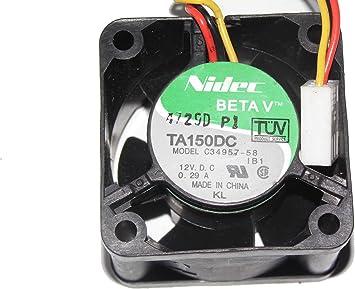 Original Nidec Cooling fan TA600 A30318-10 115V 0.35A 6 month warranty