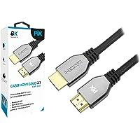 Cabo HDMI Gold 2.1-8K HD, Pix, HDMI 2.1