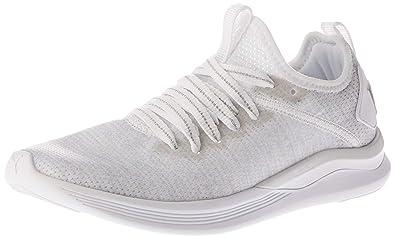 b339e30b0098c PUMA Women's Ignite Flash Evoknit Ep Women Shoes, Beige White-Gray Violet,  ...