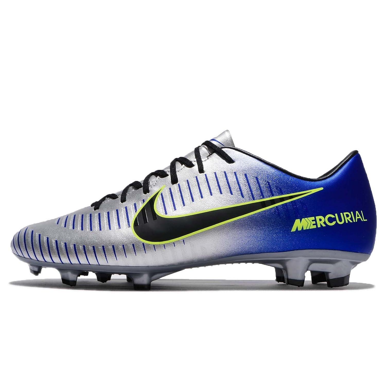 (ナイキ) マーキュリアル ビクトリー VI NJR FG メンズ サッカー シューズ Nike Mercurial Victory VI NJR FG 921509-407 [並行輸入品] B078N25MH2RACER BLUE/BLACK-CHROME-VOLT 27.0 cm