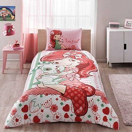 . Amazon com  Bekata Strawberry Shortcake Bedding Complete Set  100