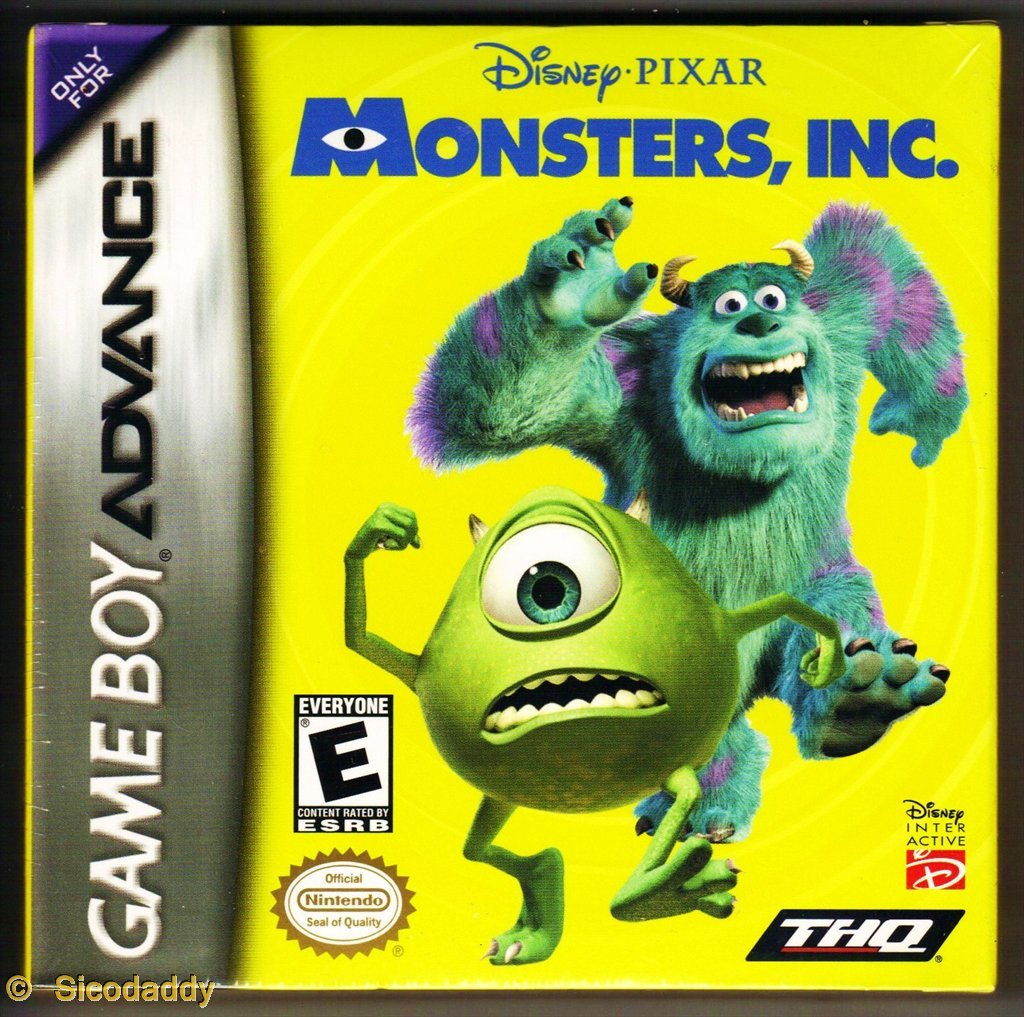Disney/Pixar's Monsters, Inc.: Game Boy Advance: Video Games