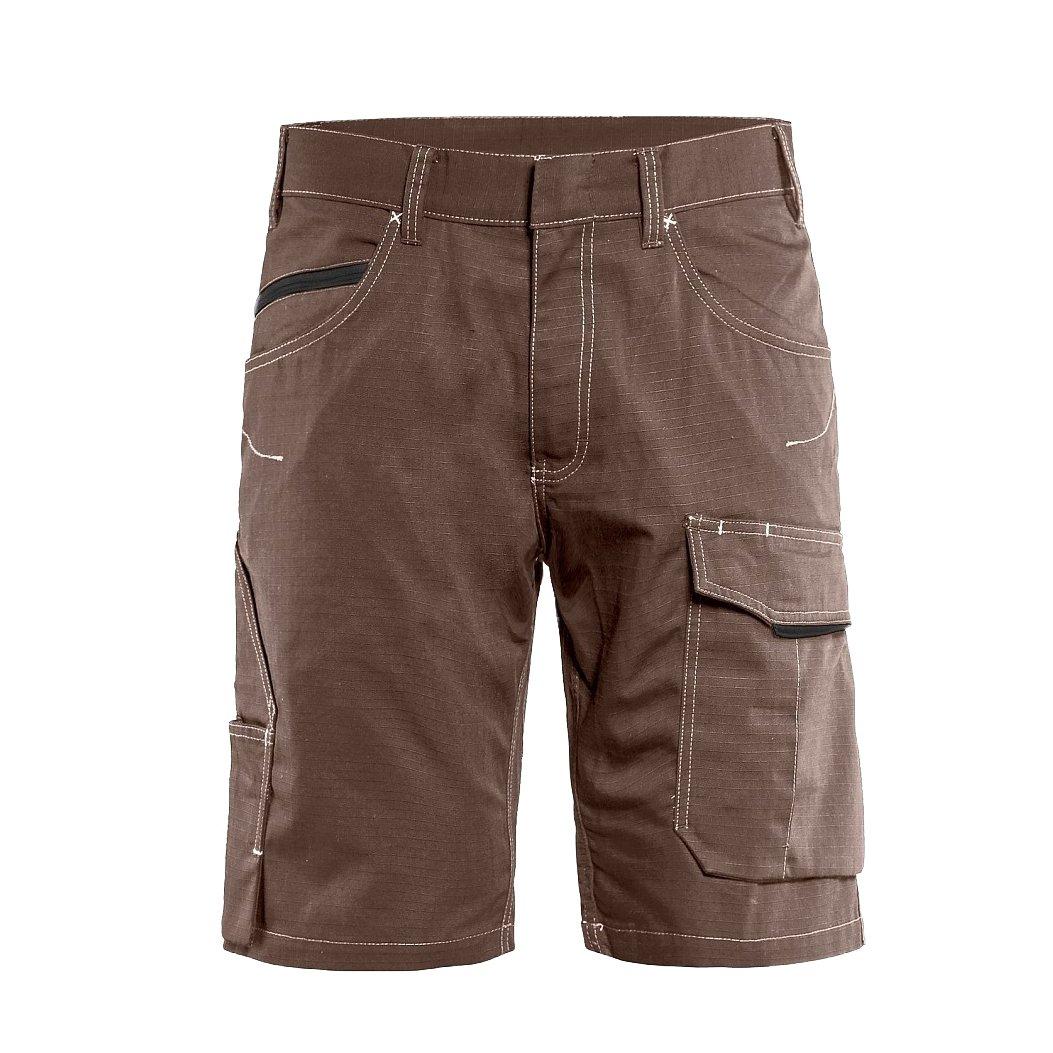 Blaklader 149913307899C48 Service Shorts Size C48, Tan Tan Brown/Black