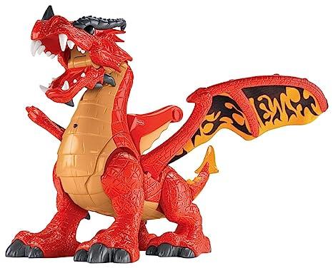 28ad0cf1201 Amazon.com: Fisher-Price Imaginext Eagle Talon Castle Dragon: Toys & Games
