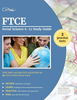 ftce social science 6 12 w cd rom ftce teacher certification test rh amazon com Science Symbols AP Computer Science Study Guide