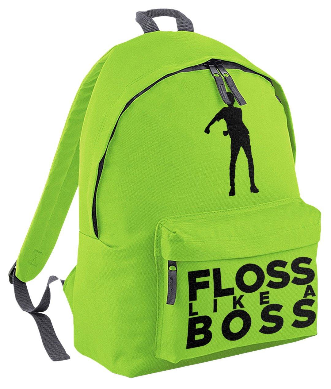 Floss Like a Boss Backpack Boys Girls Kids School Bag Black