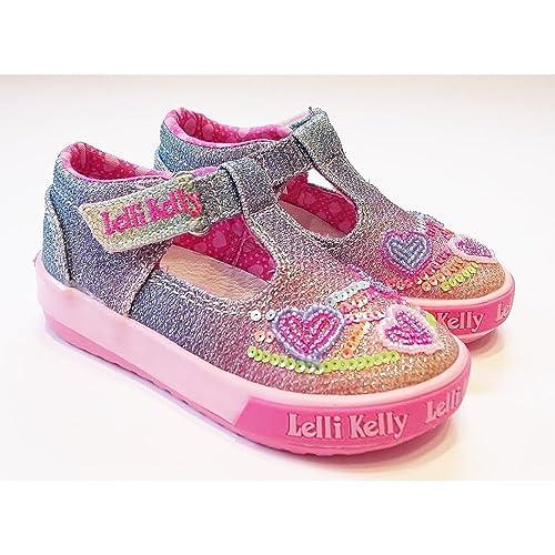 c32adc82b3 Lelli Kelly Rainbow Heart T-B Multi 23: Amazon.co.uk: Shoes & Bags