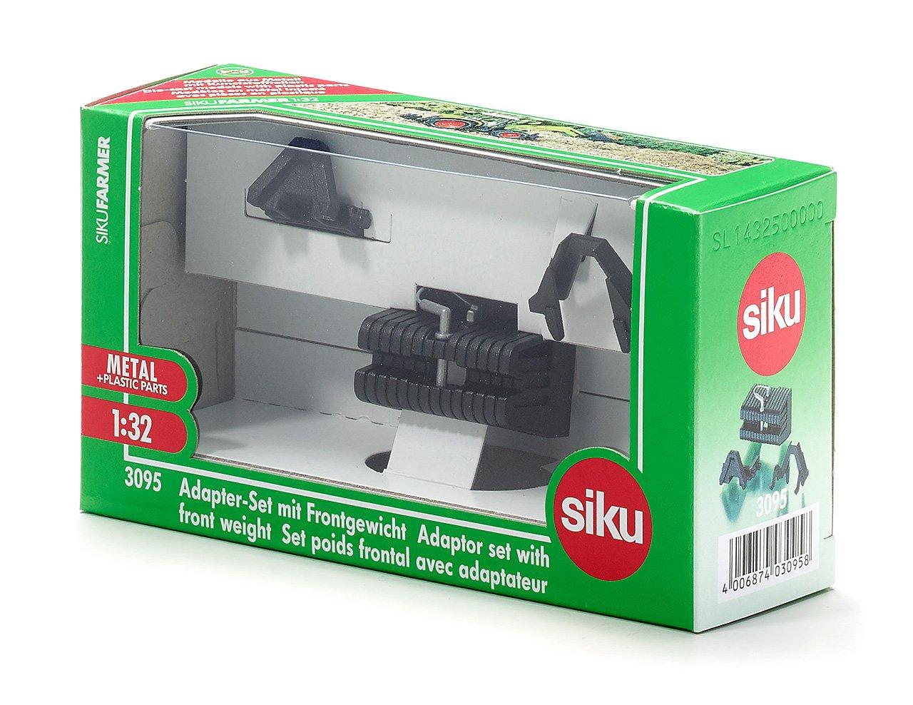 Frontgewicht 1:32 SIKU Adpater Set m Spielzeugautos