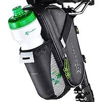 RockBros Bicicleta Impermeable Bolsa para sillín de bicicleta asiento de bicicleta de montaña, color negro