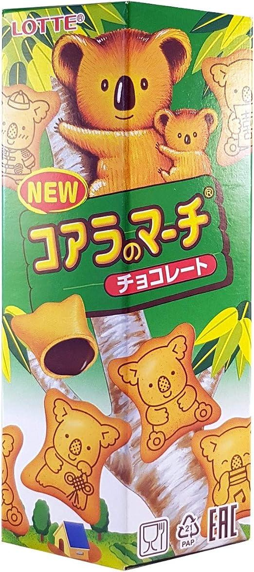 Biscuit Koala au chocolat LOTTE 49g Chine: Amazon.es: Alimentación y bebidas