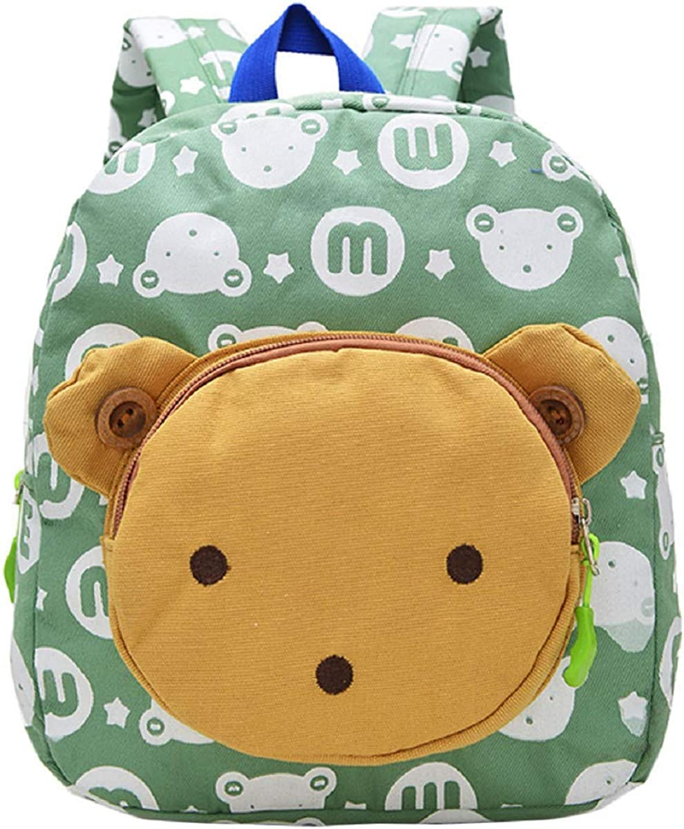 OTINICE-Baby Girls School Book Bag Cute Wide Shoulder Strap Backpack with Safe Leash 1-3 Years