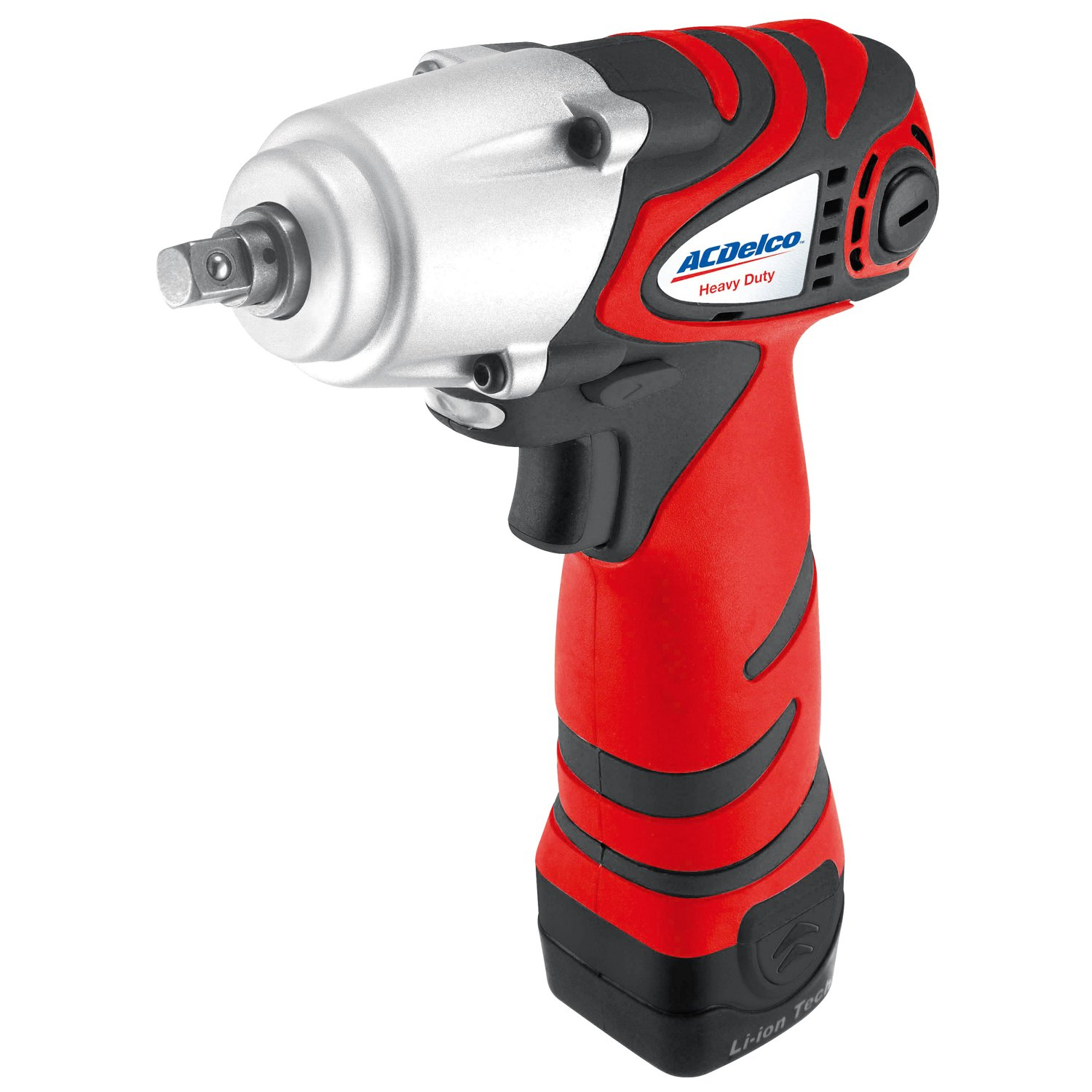 ACDelco BLOWOUT Power Impact Wrench, 75 ft-lbs Li-ion 8V 3/8-inch - Bare Tool ARI810T (Impact Wrench Kit)