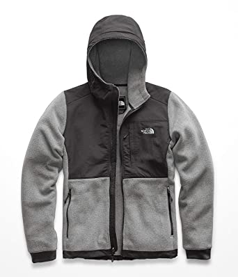 68978fac0e0b The North Face Womens Denali 2 Hoodie NF0A3SX1HAT XS - TNF Medium Grey  Heather Asphalt Grey TNF Medium Navy at Amazon Women s Coats Shop
