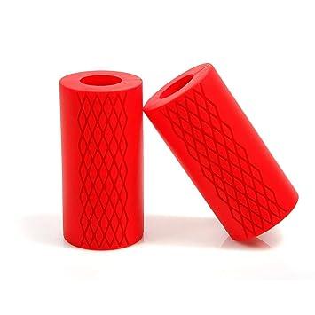 Mango para Mancuernas – Thick Grip para aumentar tu masa muscular en tus brazos y mejorar