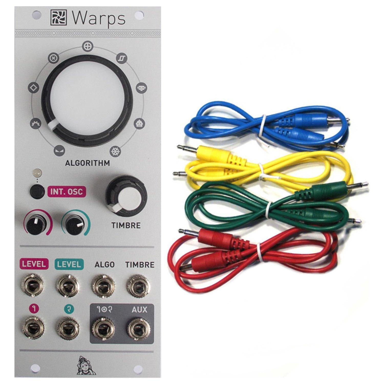 Mutable Instruments Warps Meta-Modulator Eurorack Modulew/ 4 Cables