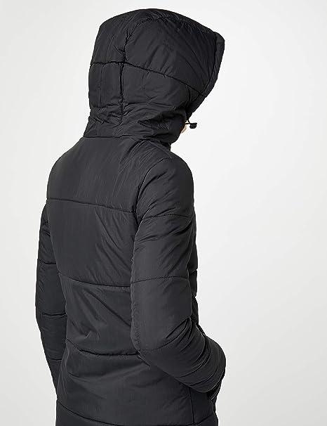 Brandit Women's Sina Long padded warm winter Coat black Size