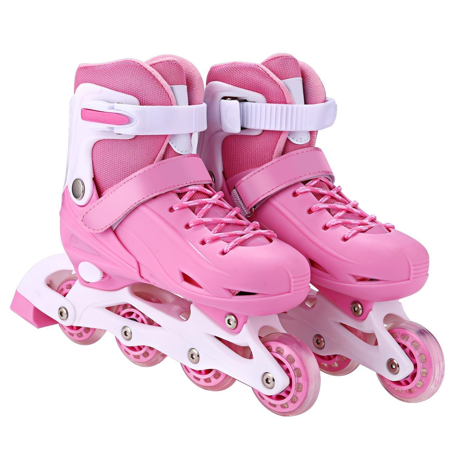 Kindsells Rollerblades Inline Skates, Children Fashion Triple Protection Switchable Pulley Adjustable Size Roller Skates by Kindsells