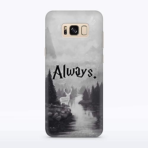 quality design 76457 37ac3 Amazon.com: Deer Patronus Always Harry Potter Case Watercolor ...