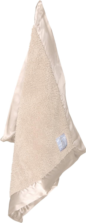 Latte Little Giraffe Chenille Mini Blanket