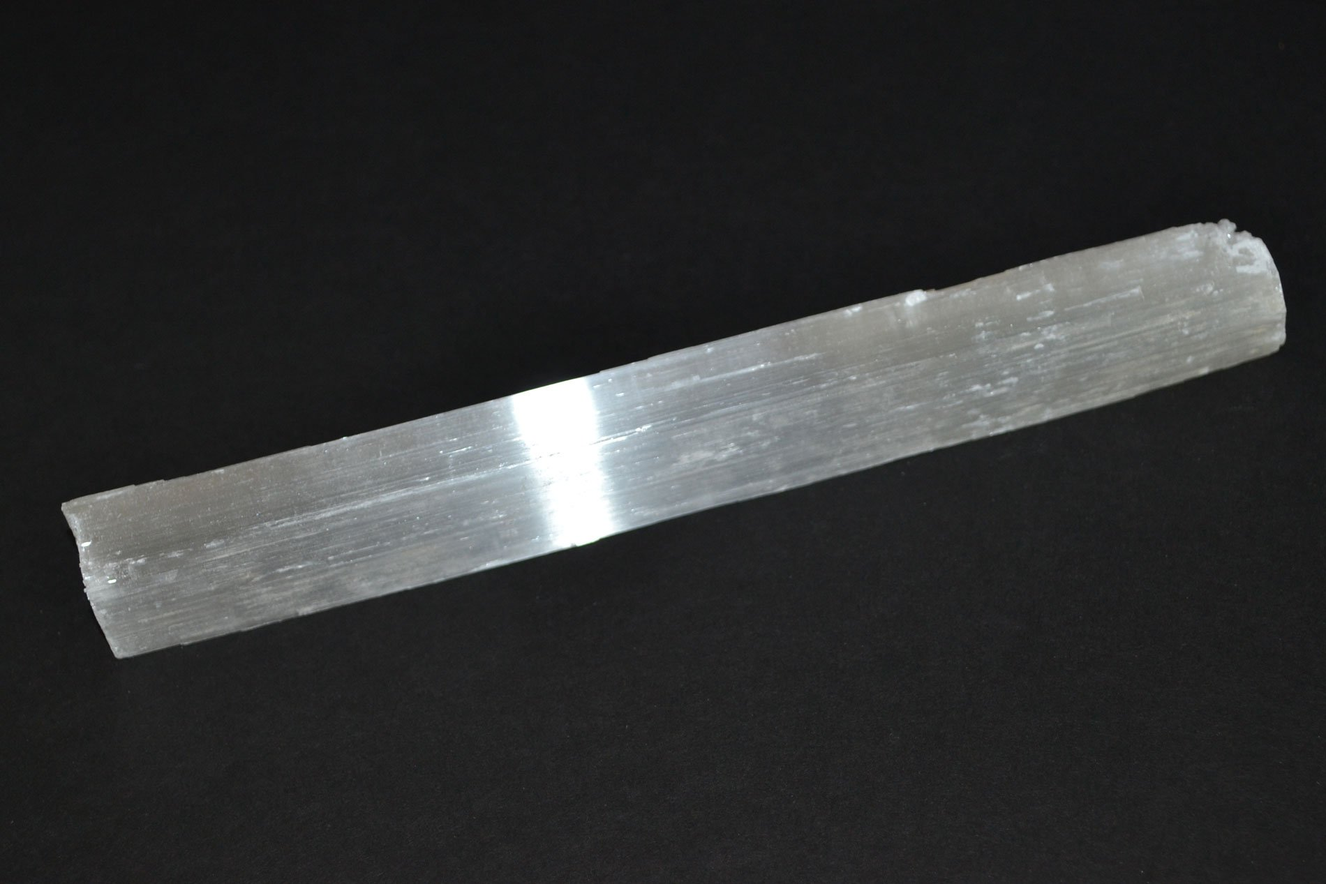 Selenite Stick 6 to 9 inches - Wand, Reiki, Chakra Healing