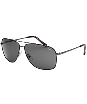 5d44ad8b3d70 Amazon.com  Lacoste Sunglasses L128S 033 Gunmetal 61 12 135  Clothing