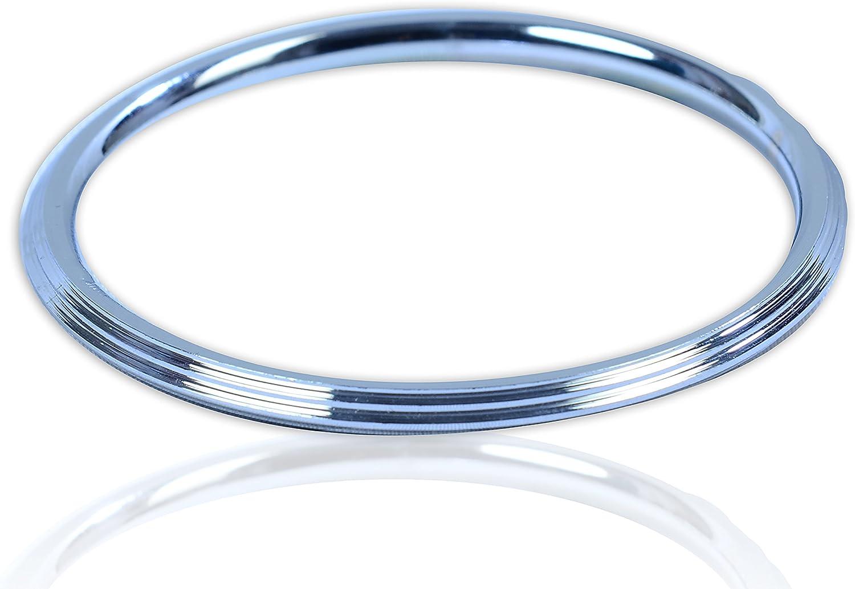 Twisted Wire Chrome Plated Steel Sikh Singh Khalsa Kara Punjabi Kada Bracelet D8