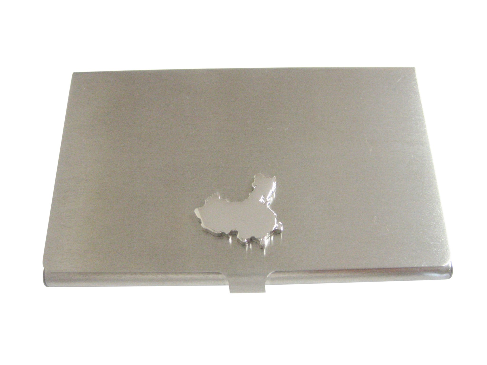 China Map Shape Business Card Holder