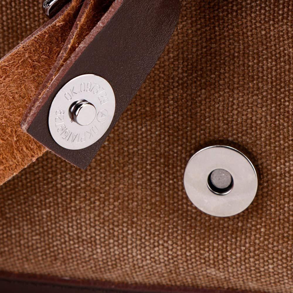 SHUAIJIE,Oversized Travel Duffel Bag,Waterproof Canvas Genuine Leather,Weekend bag,Weekender Overnight,Carry On Handbag